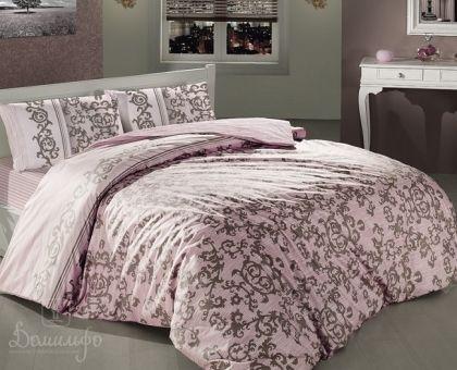Купить постельное белье ALTINBASAK SUAVE розовое 50х70 1,5-сп от производителя Altinbasak (Турция)