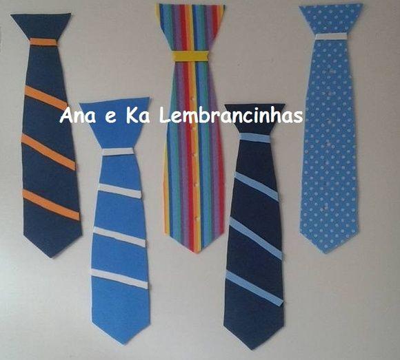 Marcador de Pagina de gravata em EVA
