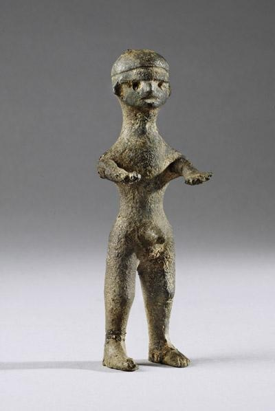 VILLANOVAN BRONZE FIGURINE | 8th Century BC | Price $14,000.00 | Villanovan | Bronze | Sculpture | eTiquities by Phoenix Ancient Art
