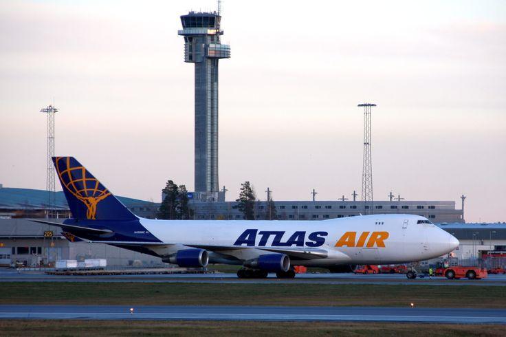 Atlas Air N408MC OSL ENGM Gardermoen