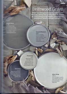 This is why I love shades of greys, amazing natural tones