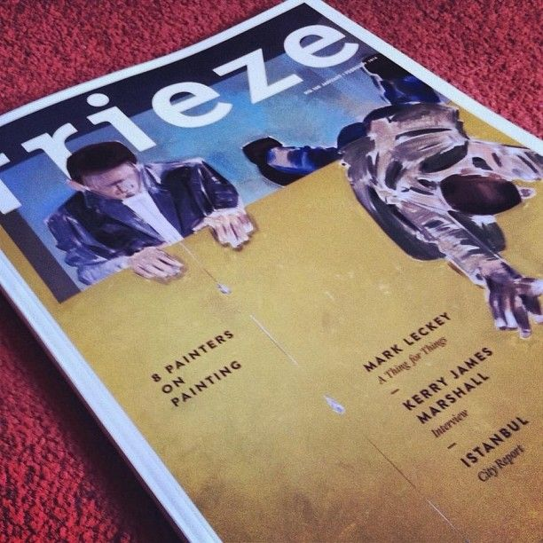 Some weekend research with Frieze Magazine