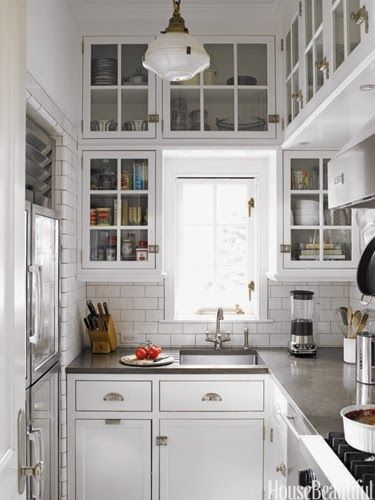loft & cottage: in praise of the small kitchen