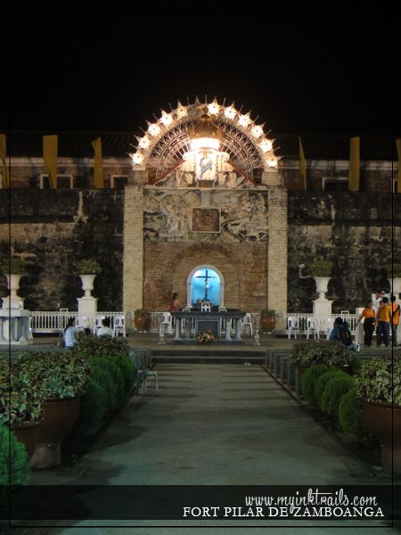 MUST VISIT IN ZAMBOANGA CITY -- Fort Pilar de Zamboanga. An outdoor shrine, dedicated and named after the maiden of Our Lady of Pillar, the patroness of the Archdiocese of #Zamboanga.