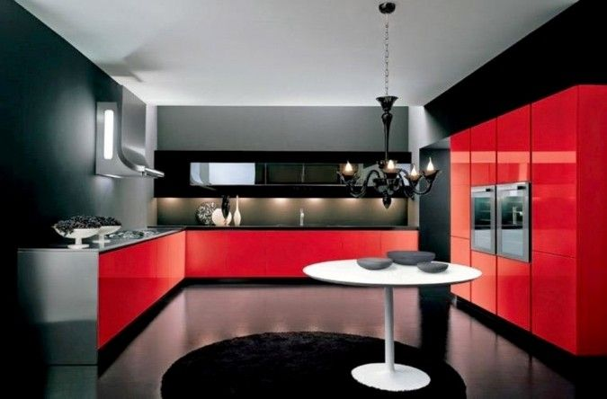 40 Stunning Fabulous Kitchen Design Ideas Pouted Com Italian Interior Black Decor