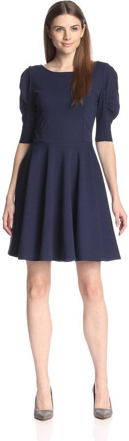 $69, Eva Franco Lupita Fit And Flare Dress. Sold by MyHabit. Click for more info: https://lookastic.com/women/shop_items/351898/redirect