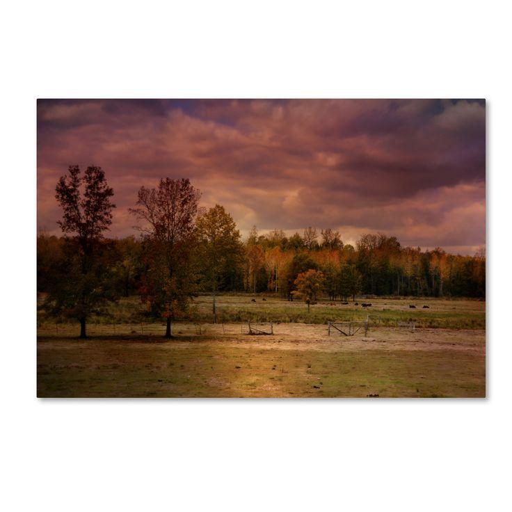 Jai Johnson 'Autumn In The Country' Canvas Art