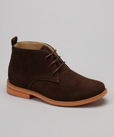Take a look at this Brown Chukka Boot by Montana on #zulily today!