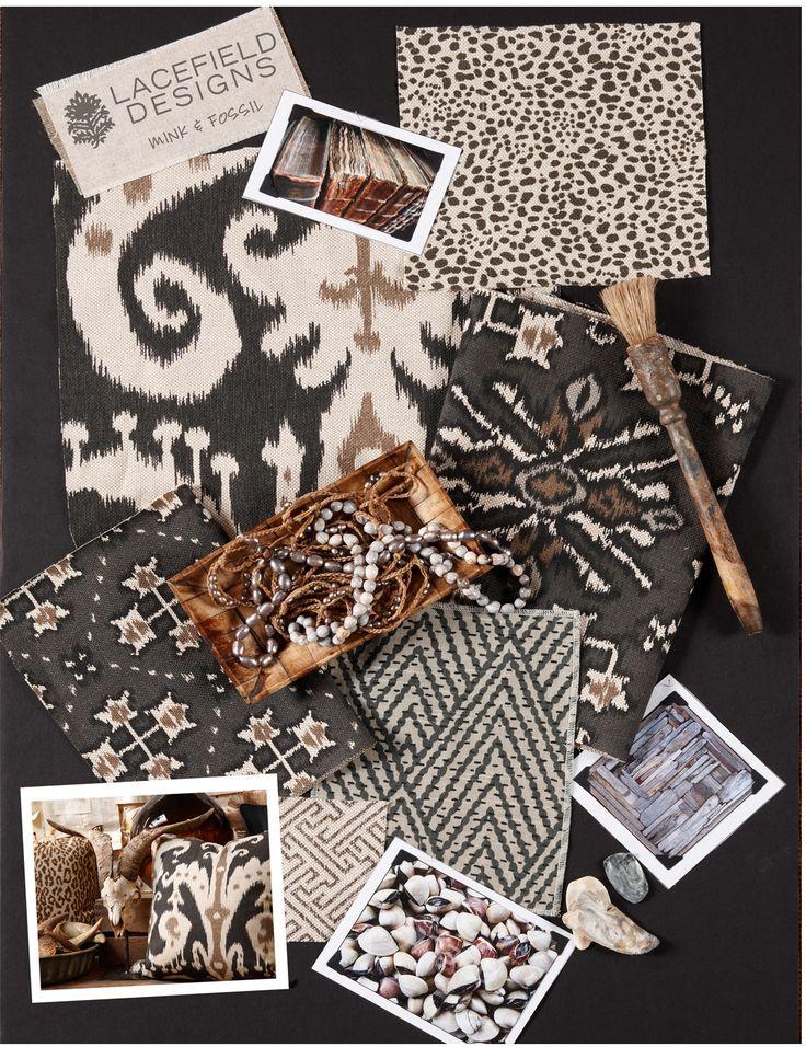 Lacefield Designs Mink #extile #moodboard  www.lacefielddesigns.com