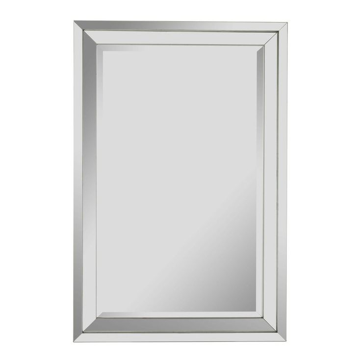 Cooper Classics Paula 24-in x 36-in Beveled Rectangle Frameless Contemporary Wall Mirror $318 not in stock