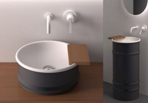 : Bathroom Design, Barrels Basin, Agape Design, Agape Bathroom, Bathroom Fixtures, Interiors Bathroom, Bathroom Innovation, Bathroom Ideas, Design Bathroom