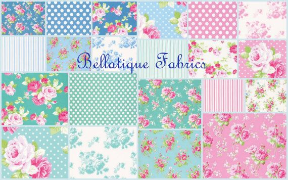 In Stock 5 Charm Pack Preorder Tanya Whelan by BellatiqueFabrics