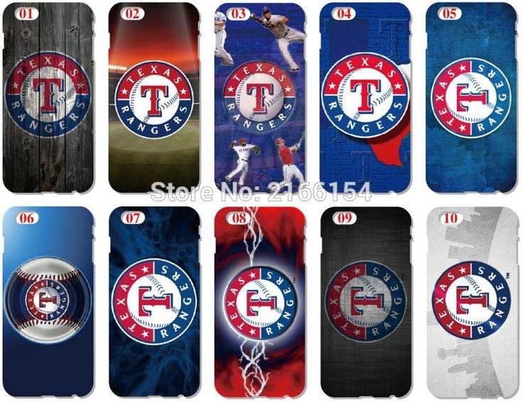 Оптовая продажа много техасские рейнджеры пластик жесткий сотовый телефон для iphone 4S 5 5S SE 5C 6 6 S плюс для iPod Touch 4 5 6 мобильный чехол