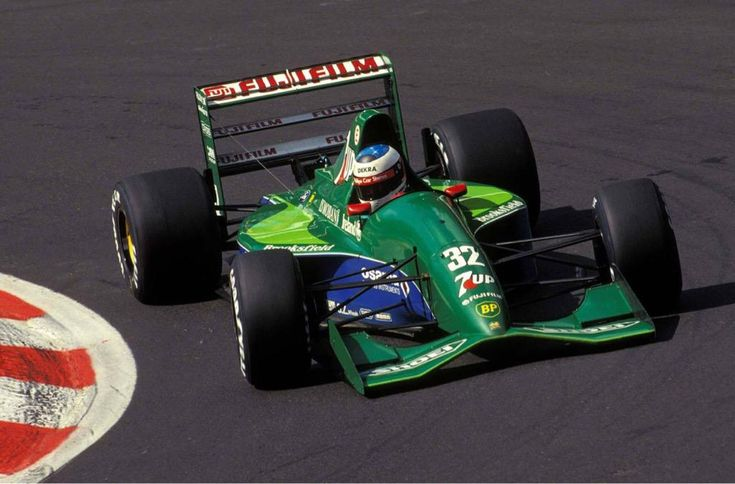Michael Schumacher ~ 7Up Jordan-Ford 191 ~ 1991 Belgian Grand Prix, Francorchamps