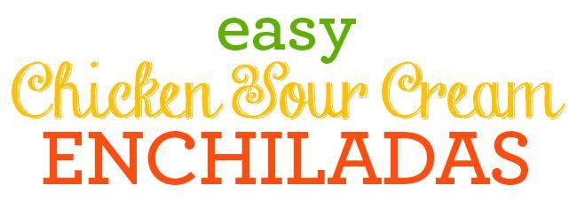 Easy-chicken-cheese-enchilada-recipe