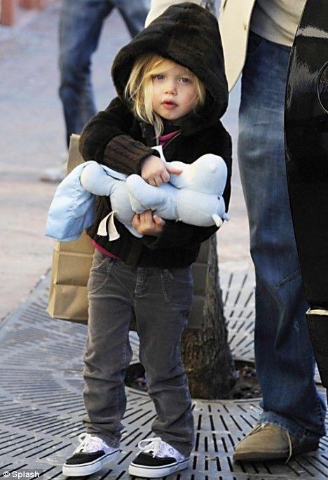 Shiloh Jolie Pitt style, love her!!!