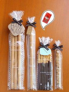100 eliminare sacchetto di pizzo biscotto / plastica cellophane / per il regalo panificio imballaggio imballaggio 6 x 20 cm(China (Mainland))