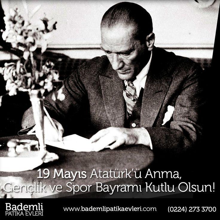 19 Mayıs Atatürk'ü Anma, Gençlik ve Spor Bayramınız Kutlu Olsun! #19mayıs #Atatürk #gençlik #spor #bayram #samsun #bandırma #mayıs #uluönder #kurtuluş