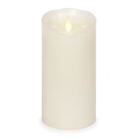 Luminara Flameless Candles provide the beauty of candlelight without the smoke or danger from flames. Luminara Candles are LED and have a 500 hour battery life. The Luminara Flameless Ivory Candle is Vanilla Scented and measures 3.5in x 5in. Ben Franklin Online - Luminara Flameless Ivory Candle 3.5 x 5, $34.99 (http://www.benfranklinonline.com/luminara-flameless-ivory-candle-3-5-x-5/)