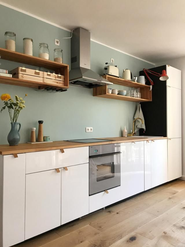 #mykitchen #kitchen #scandistyle #wood #altundneu