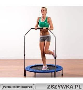 Trampolina - świetna zabawa i trening w jednym :)