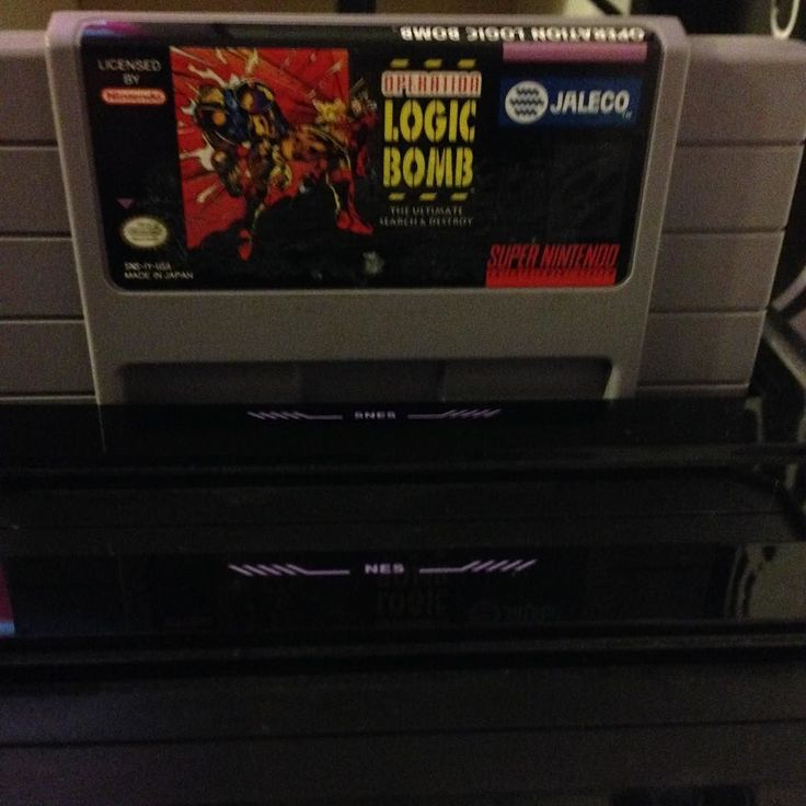 On instagram by howtoloseatvideogames #retrogaming #microhobbit (o) http://ift.tt/1PhIDRJ aren't too many games you can say this about nowadays but I have legitimately never heard anybody bring up Operation: Logic Bomb for the Super Nintendo. And as you might have guessed that's a damn shame because this is one badass game. It's a top-down shooter that works really well on the SNES and manages to separate itself from similar games in the genre by encouraging players to explore each level in…