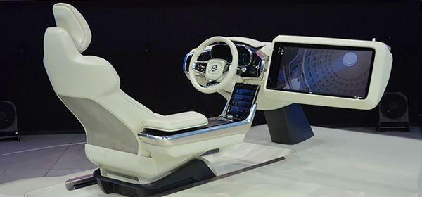 Autonews :: Новинки сезона :: Машина времени: Volvo показала интерьер будущего