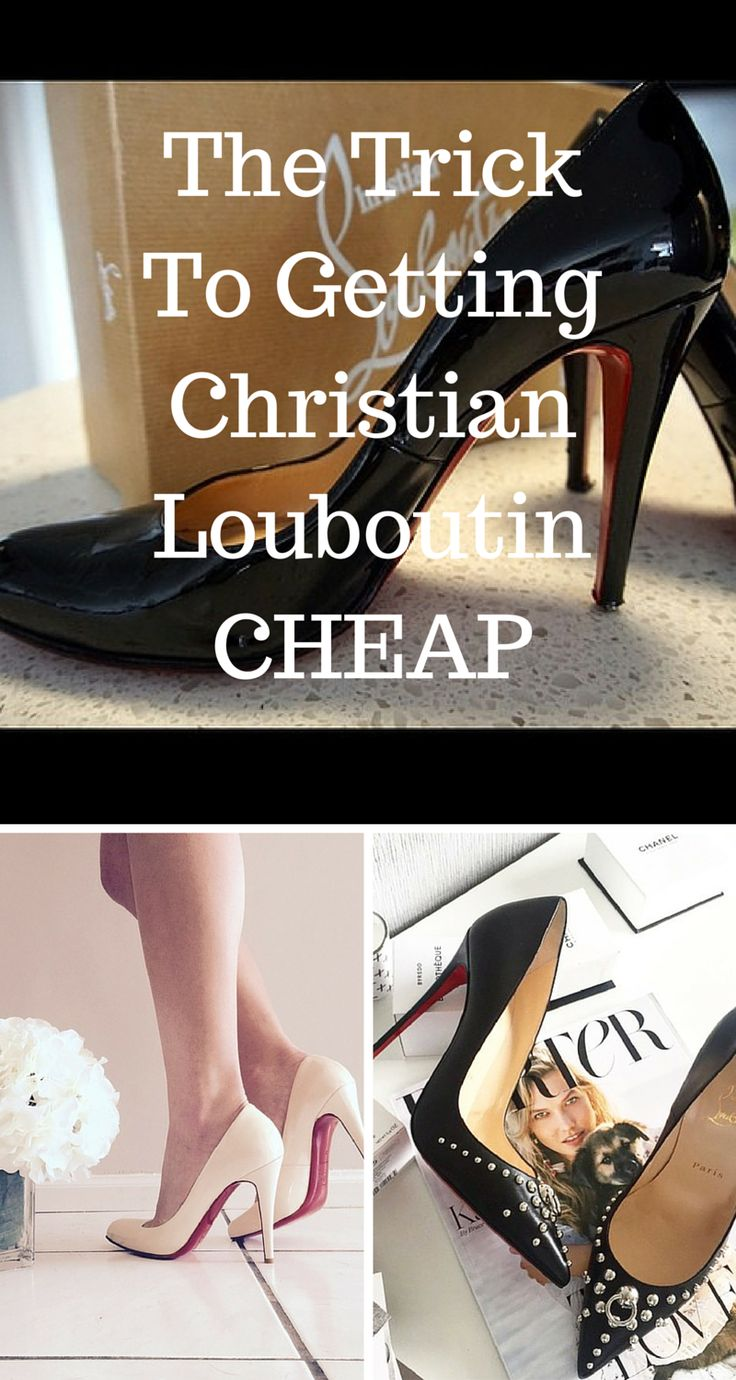 Sale! Buy Christian Louboutin, Jimmy Choo, and other brands at up to 70% off! Click image to install the FREE Poshmark app now.
