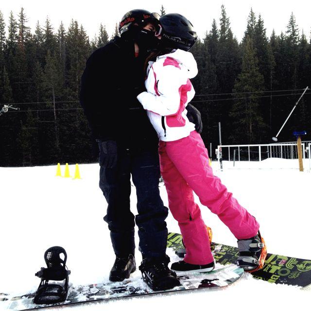 Snowboarding :)