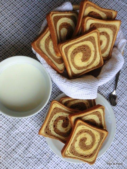 Pan di Pane: Ricetta Fette Biscottate bicolori con Biga