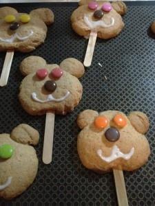 ayı kurabiyeler :)