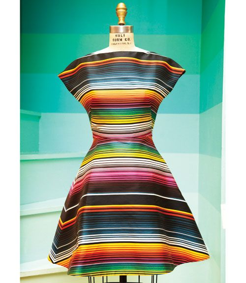 I love this piece from House of Holland's Resort Collection. It's a great shape and a great Mexican-inspired print. - MarieClaire.com