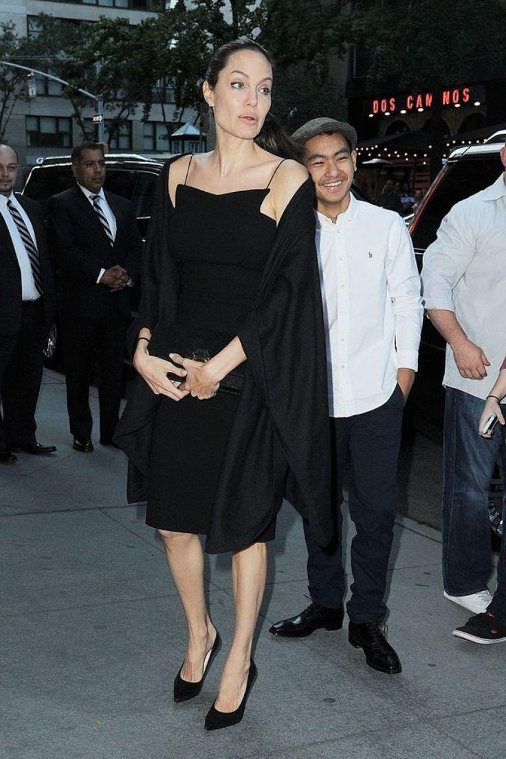Angelina Jolie e Maddox