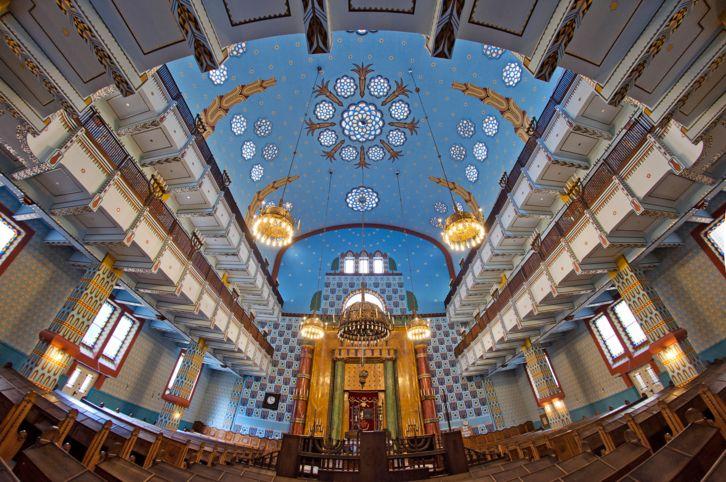 Kazinczy street orthodox synagogue, built in 1913