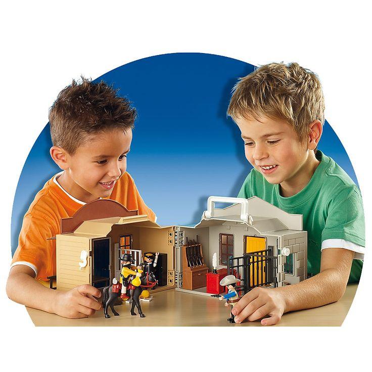 Playmobil Western Przenośne miasteczko westernowe, 4398, klocki