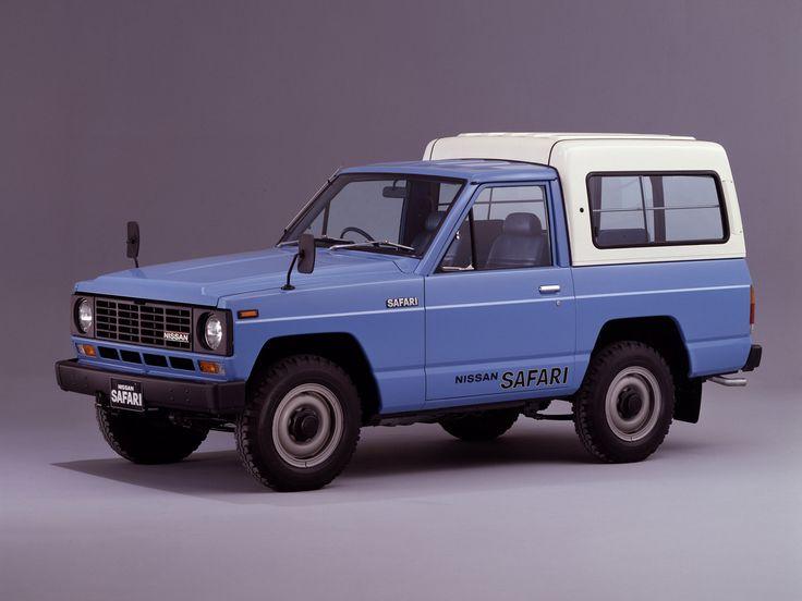 Nissan_Safari_Pickup 2 door_1980