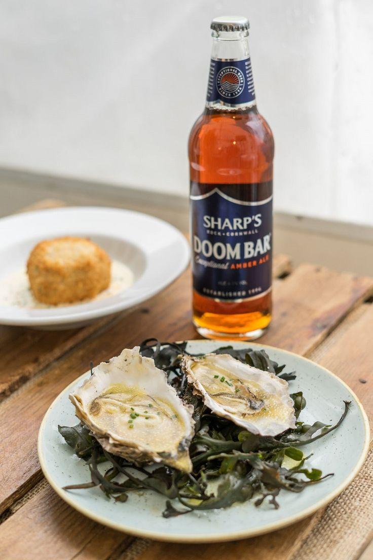Sharp's Doom Bar with Oysters