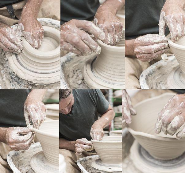 tony-sly-pottery | step by step