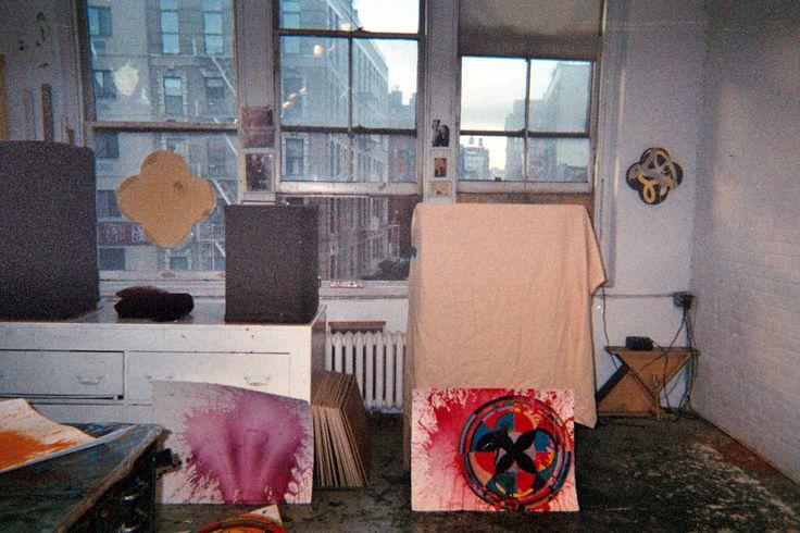 Max Gimblett's Studio, NYC  Lani Mitchell lanimitchell.com