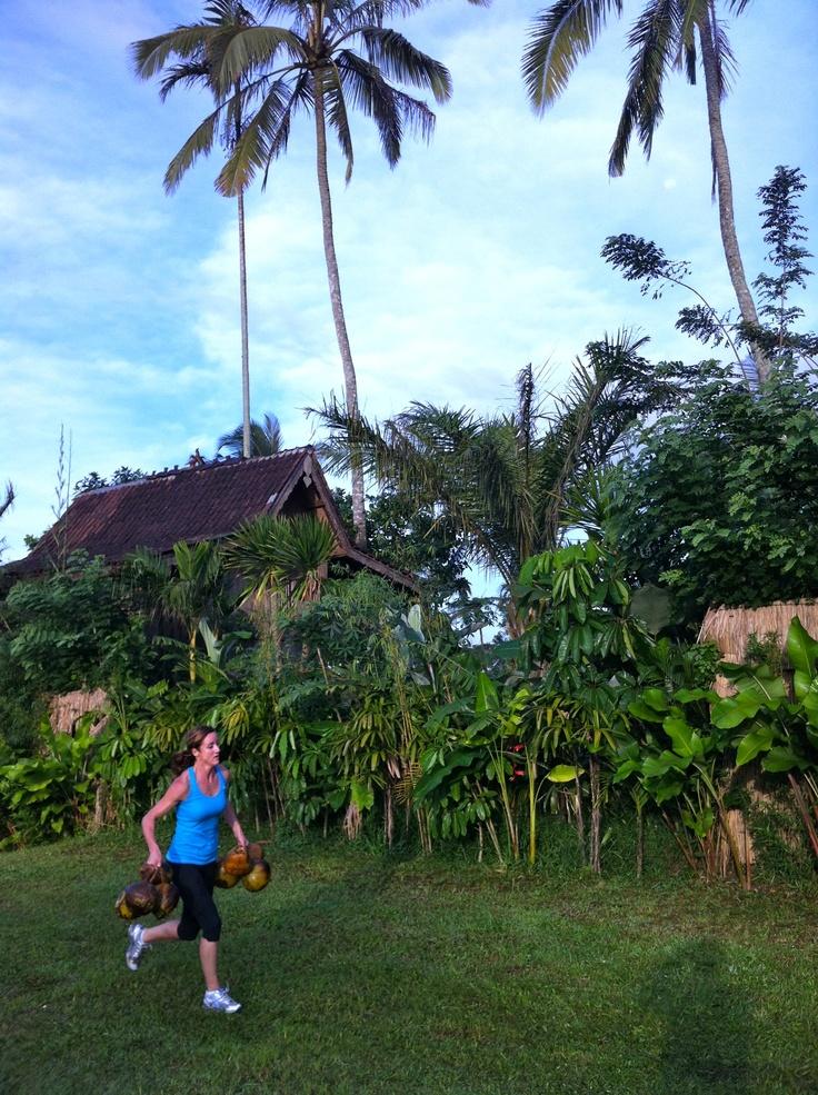 coconut training Camp Firebrand style in Bali