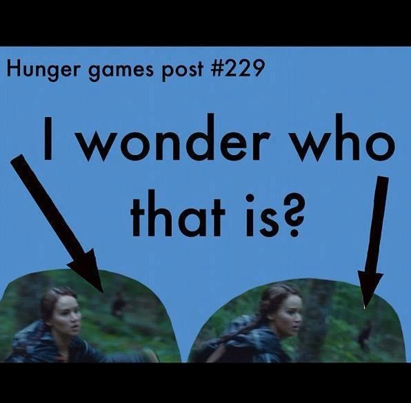 Hunger games< probably Rue