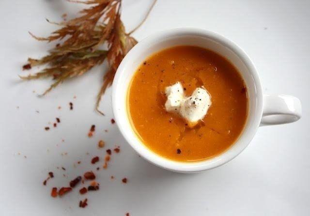 Морковный суп с медом и имбирем