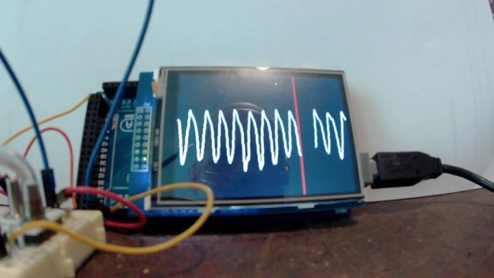 Breathing monitor using a differential pressure sensor and arduino #thearduinoshop