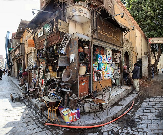 Ali Baba's Cave, Khan el Khalili, Cairo, Egypt - Dear God:  please just give me 45 minutes in this place!
