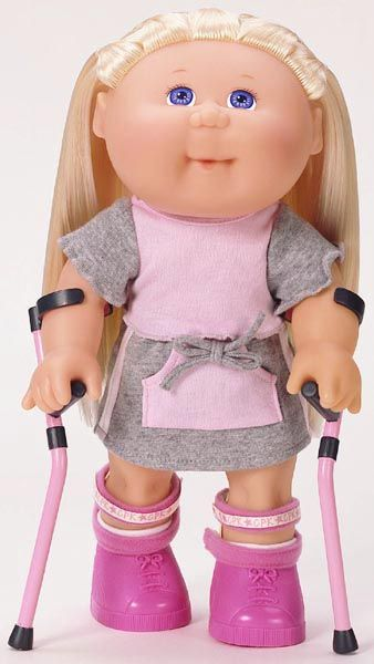 More than anything, I love seeing brand name dolls with disabilities. Just knowing that you can get clothes and accessories for your doll, that it may be special, but it's not completely isolated, is a huge deal for some kids.