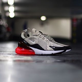 sells superior quality cheaper Nike Air Max 270 Black-light-bone-hot-punch AH8050-003 | Nike air ...