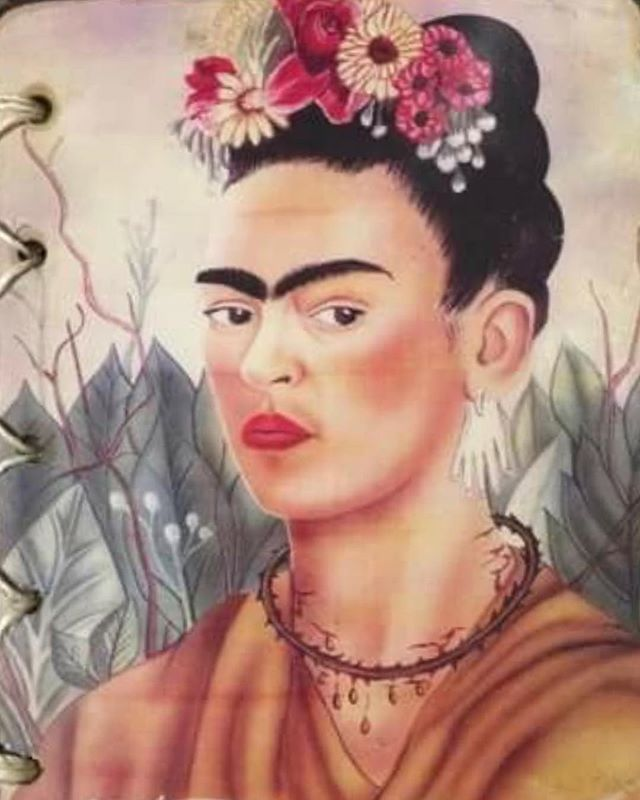 One of the journals I bought my girls. Love it. @fridakahlo @fridakahlomuseo #fridakahlo #fridakahlomuseo