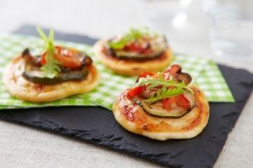 Mini pizzas à la Plancha