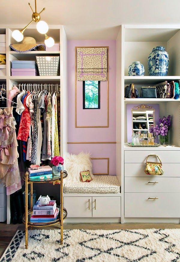 Dreamy closet.