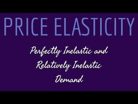 Price Elasticity Of Demand Perfectly Inelastic Demand Relatively Inelastic Demand Class 11 12 Hsc Economics Priceelasti Economics Micro Economics Elastic